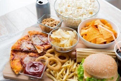 Alimentos que provocam inflamação