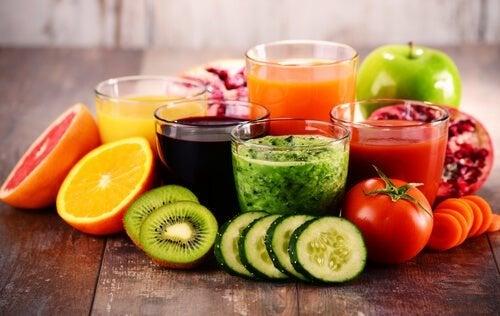 Mais bebidas antioxidantes