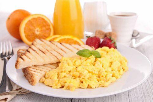 Café da manhã apto para celíacos
