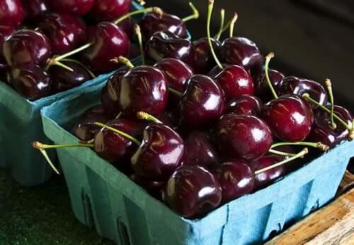 As cerejas possuem muitos benefícios para a saúde