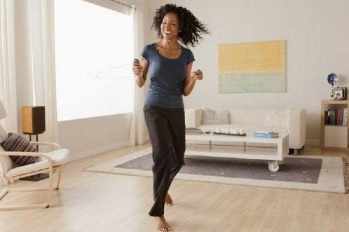 Dançar para sentir-se bem