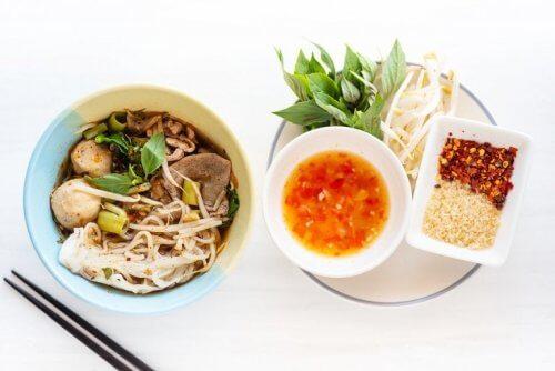 Benefícios da dieta oriental