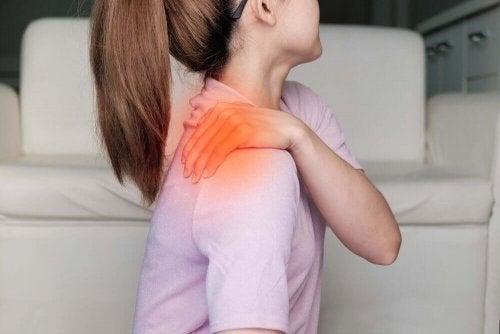 Mialgia diferida e dor nas costas