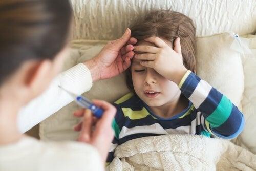 Febre em crianças
