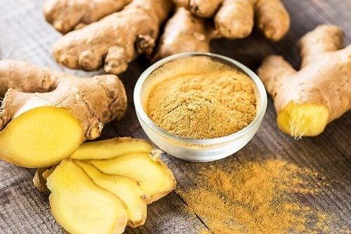 O gengibre é de origem asiática e tem sido usado por sua alta concentração em flavonoides.