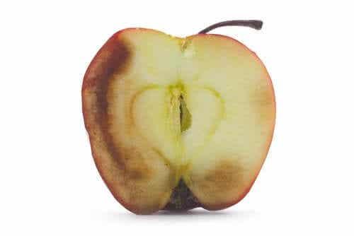 Quais são as consequências de comer fruta oxidada?