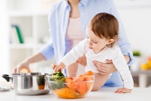 mães vegetarianas inspiram seus filhos