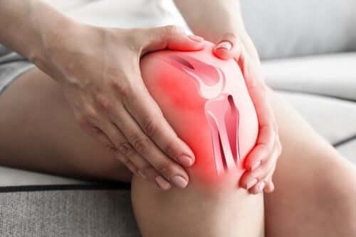 Por que a osteoartrite causa dor no joelho?