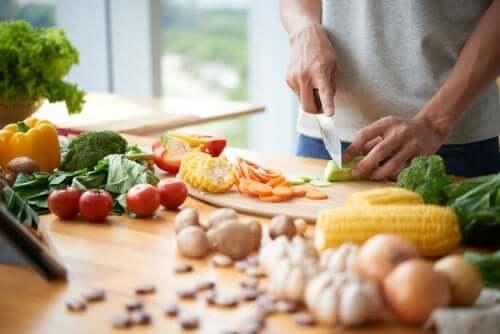 Receitas com verduras para ganhar peso