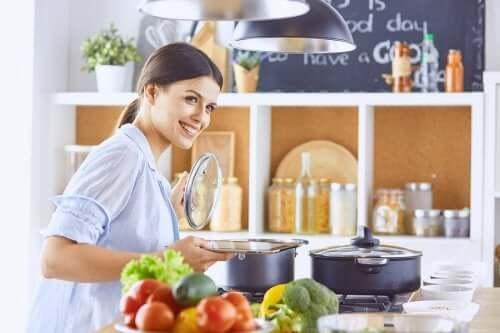 Dicas para cozinhar de forma saudável e com poucas calorias