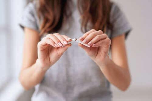 Elimine hábitos nocivos