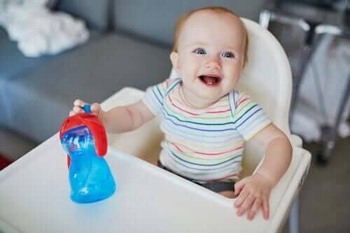 Hidratação do bebê no verão