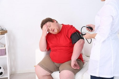 Obesidade pode dar calor