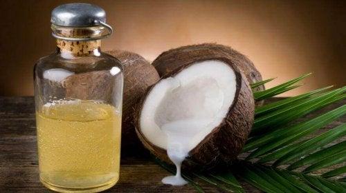 Óleo de coco para dores musculares