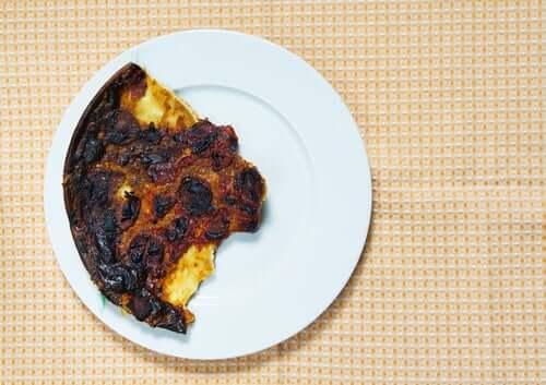 Alimento queimado