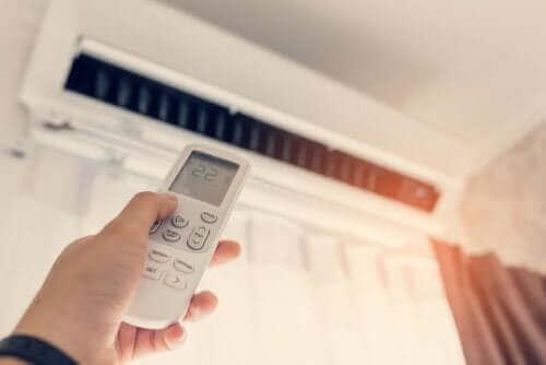 Mantenha o ar condicionado em 24 para cuidar do meio ambiente