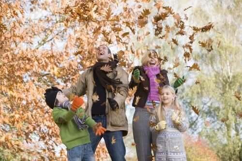 Atividades ao ar livre ideais no outono