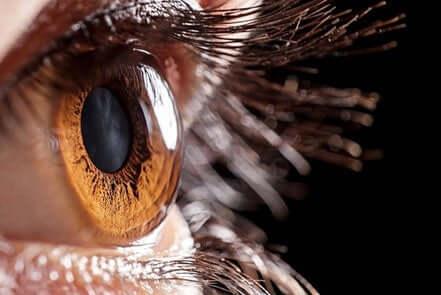 A córnea funciona como uma lente
