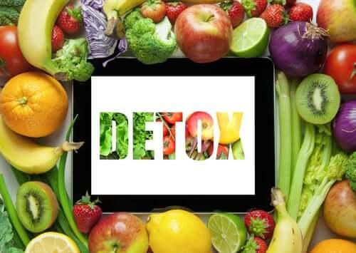 Dietas de desintoxicação em base a frutas e verduras