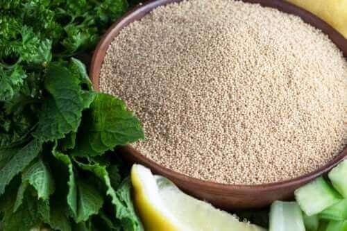 As massas sem glúten de amaranto podem ser obtidas em lojas especializadas.
