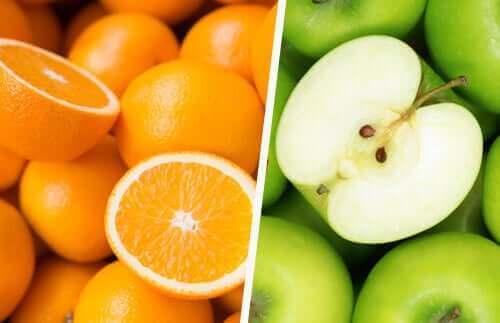 Frutas com antioxidantes