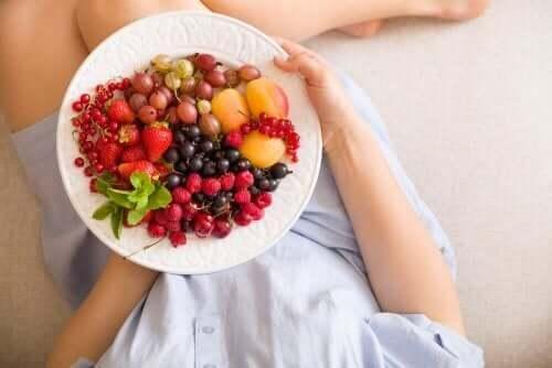 frutas e vegetais contêm grandes quantidades de ácido fólico
