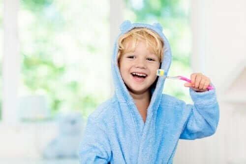 Higiene bucal das crianças