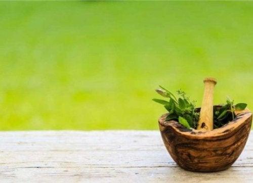 Tratamento com ervas