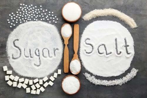 Açúcar ou sal: o que é pior em excesso?