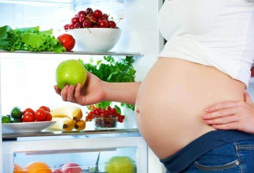 Alimentação saudável na gestação