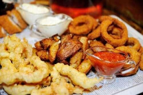 Alimentos fritos e condimentados podem causar acidez
