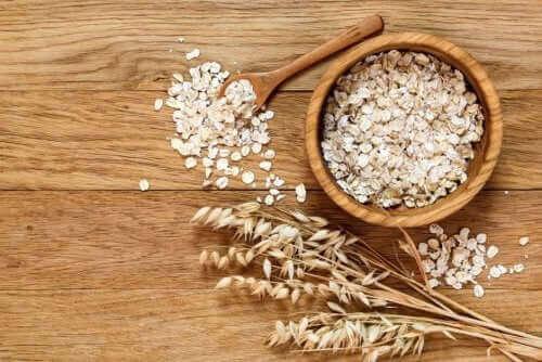 A aveia é um dos alimentos mais ricos em fibras