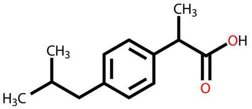 Composição do ibuprofeno