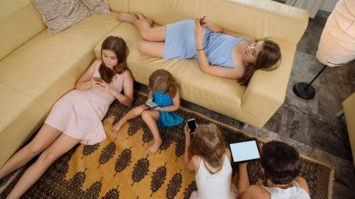 Crianças sedentárias