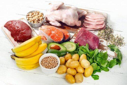Alimentos fonte de vitaminas