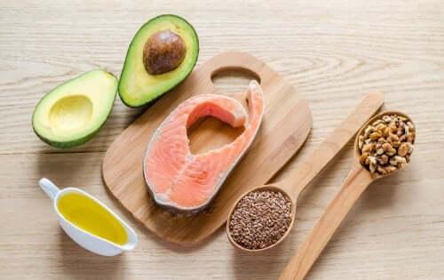 Fontes de gorduras saudáveis
