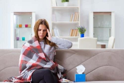 6 hábitos para se recuperar de uma gripe