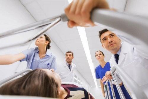 Emergência em hospital