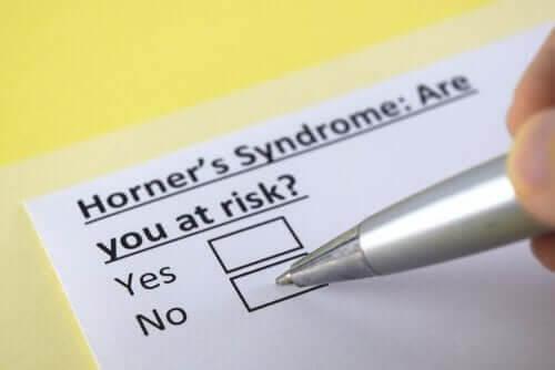 O que é a síndrome de Horner?
