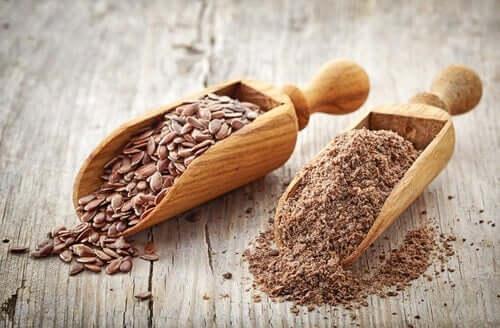 Sementes de linhaça para controlar colesterol