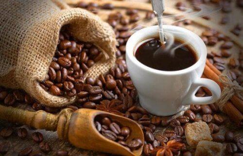 O café e a cafeína