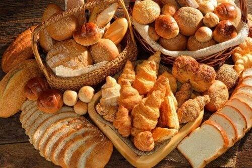 Pães de padaria