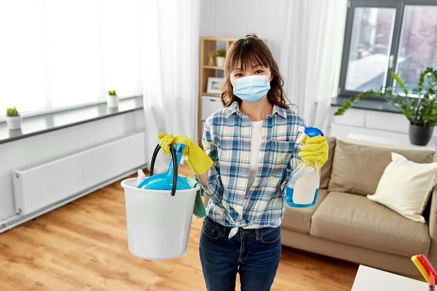 Recomendações para limpar e desinfetar a sua casa