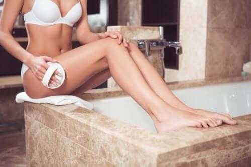 11 hábitos para firmar a pele e diminuir a celulite