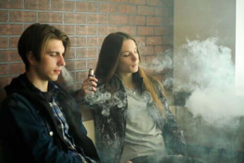 Cigarros eletrônicos: preocupações de segurança
