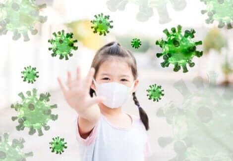 Máscara contra o coronavírus