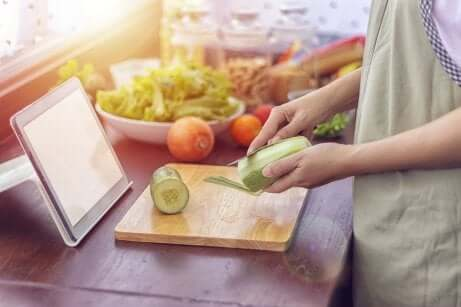 O prazer de cozinhar