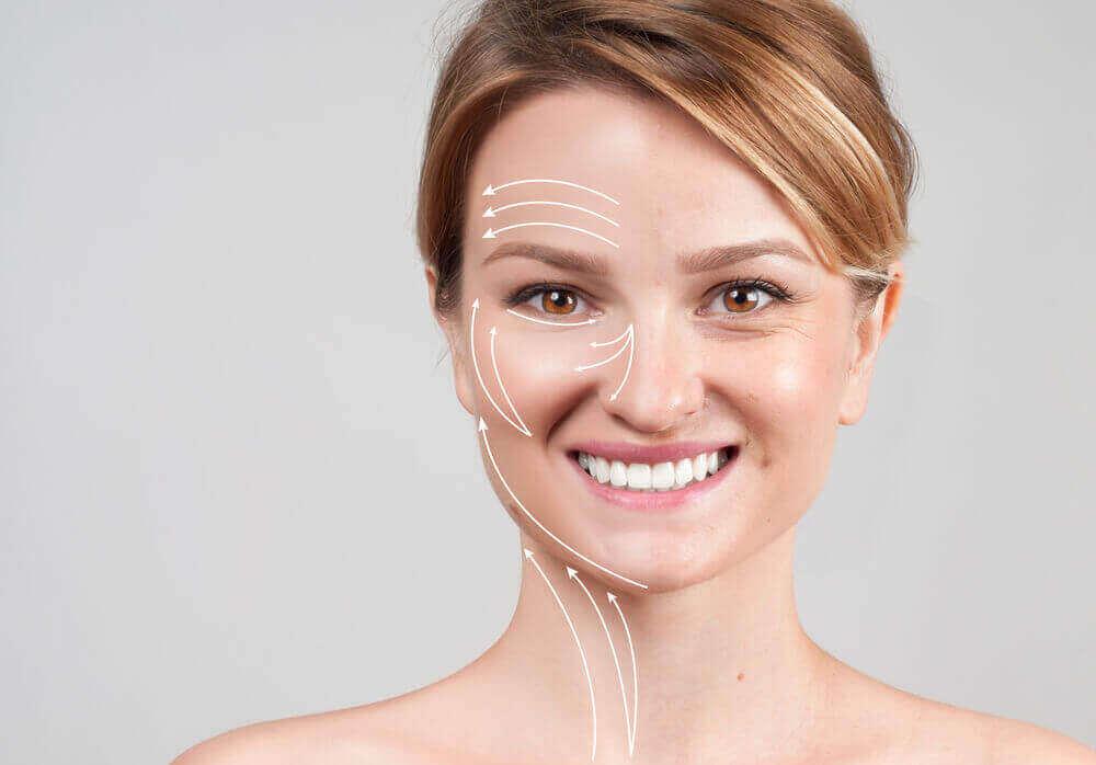 Radiofrequência facial para ter uma pele mais jovem