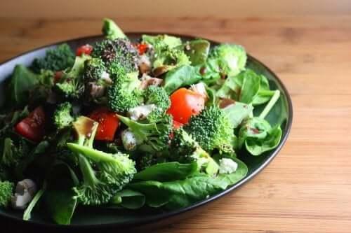 Frutas e verduras com ácido fólico
