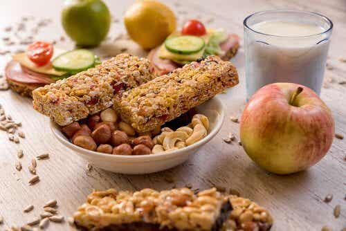 3 receitas para fazer barrinha de cereal caseira
